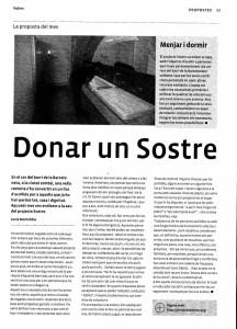 Projectesostre-Donar un Sostre-Article de Lu Montobbio
