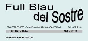 Projectesostre-Full Blau Sostre juliol 2014